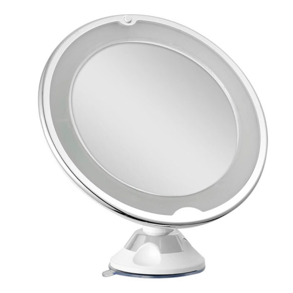 makeup mirror 10x magnification with lights